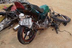 Acidente fatal: Motociclista morre na hora