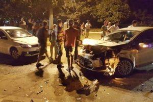 Manhuaçu: Acidente deixa dois feridos na Vilanova