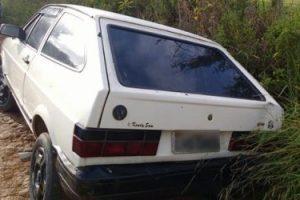 Localizado veículo Gol roubado em Orizânia