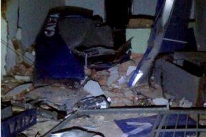 Quadrilha explode caixas eletrônicos em Fervedouro