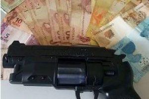 PM prende autor de roubo em posto de combustível em Santana do Manhuaçu