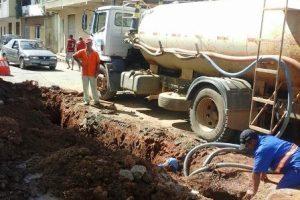 Redes de esgoto melhoradas em Manhuaçu
