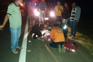 Homem é atropelado por moto em Santa Bárbara do Leste