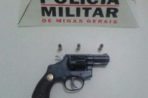 Manhuaçu: Arma de fogo é apreendida com foragido de Centro de Internação para Menores
