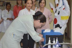 Dia de Higienização das Mãos é lembrado na Fundação Cristiano Varella