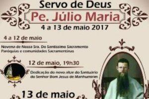13 de maio: Causa de Beatificação do Pe. Júlio Maria será encaminhada ao Vaticano