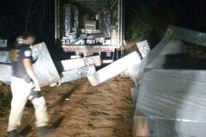 Caminhão da Ricardo Eletro é roubado em Rio Casca