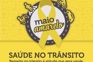 Campanha Maio Amarelo conscientiza condutores de veículos