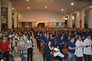 Fotos do encerramento do Encontro do PLC no Bom Pastor