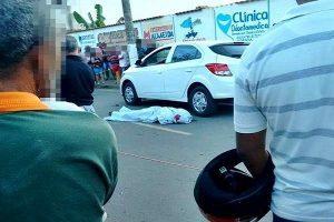 Homem executado ao sair do carro em Divino