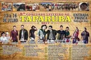 Taparuba em festa a partir desta quinta-feira