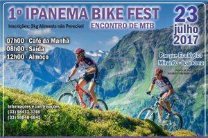1º Ipanema Bike Fest acontece neste domingo, 23/07