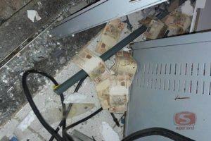 Chalé: Bandidos arrombam Correios e explodem bancos