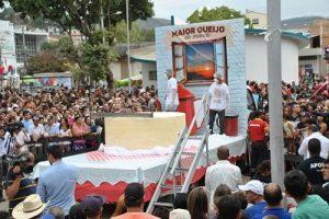 Ipanema: queijo de duas toneladas, doce de 600 kg e 2 mil litros de queimadinha