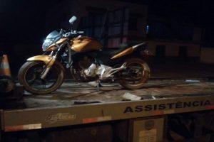 Manhuaçu: PM recupera motocicleta roubada