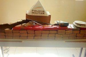 Mutum: Drogas, armas, munições e dinheiro apreendidos