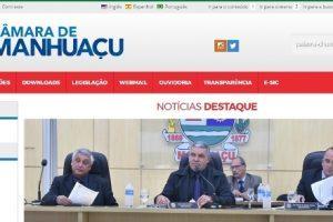 Câmara de Vereadores de Manhuaçu tem novo site no ar