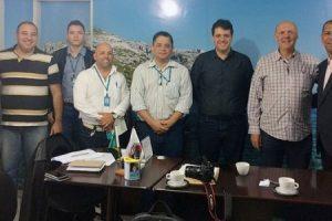 Diretores da Energisa/MG visitam Manhumirim e Alto Jequitibá