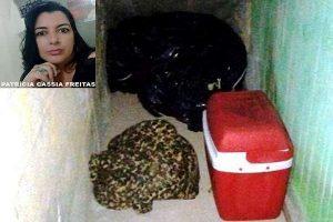 Mulher é morta e colocada em saco de lixo