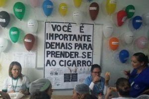 HCL promove conscientização sobre tabagismo