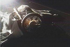 Pai e filho morrem em acidente de motocicleta