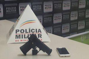 Manhuaçu: Polícia Militar prende dois autores de roubo de automóvel