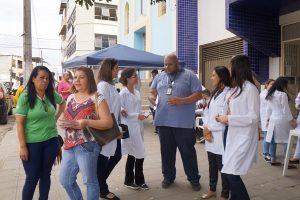 Unidade de Saúde do Bairro Catuaí realiza mobilização social no Coqueiro