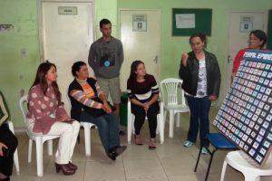 Prefeita Cici participa de reunião do COUS no Bairro Nossa Senhora Aparecida