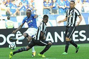 Cruzeiro e Botafogo ficam no empate sem gols