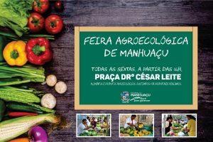 Feira Sem Agrotóxico funcionará na Praça Dr. César Leite a partir desta sexta-feira