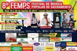 8º Festival de Música de Sacramento será neste final de semana