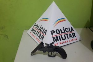 Arma é retirada de circulação em Manhuaçu