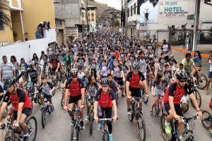 Veja como foi o 16º Passeio Ciclístico de Manhuaçu