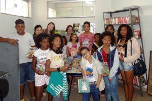 Projeto 'Férias na Biblioteca' estimulou a leitura entre as crianças