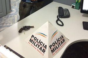 Denúncia leva a PM a apreensão de arma em Santa Margarida