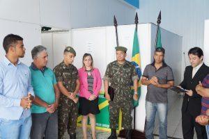 Junta do Serviço Militar é inaugurada em Luisburgo