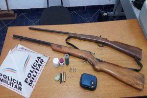 11º BPM apreende 28 armas de fogo na Operação Cidade Segura