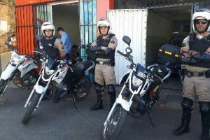 Motopatrulhamento da PM é implantado em Manhuaçu