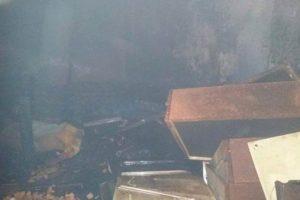 Manhuaçu: Casa pega fogo no Bairro Santa Luzia