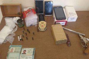 PC prende acusado de tráfico de drogas em Santa Margarida