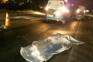 Mulher andarilha morre atropelada em São João do Manhuaçu