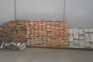 11º Batalhão realiza doação de 06 toneladas de alimentos