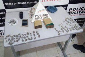 PM apreende drogas em Ipanema