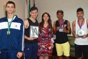 Atletas de Muaythai agradecem apoio da Prefeitura de Manhuaçu