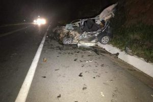 Inhapim: Casal morre em acidente na BR 116