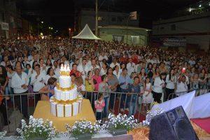 Simonésia celebra 140 anos da Paróquia de São Simão. Veja as fotos