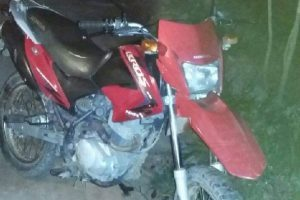 PM de Santana recupera motocicleta