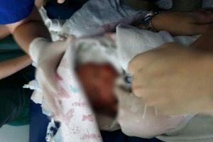Bebê é encontrado abandonado no Bairro Santa Terezinha