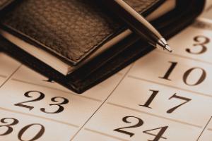 Agenda do dia. O que você precisa saber