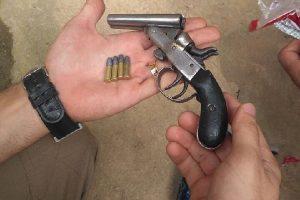 Homem é morto no Bairro Santa Luzia. Arma localizada